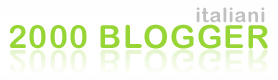 2000 bloggers italiani